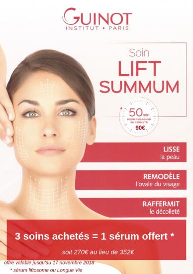 Lancement lift summum